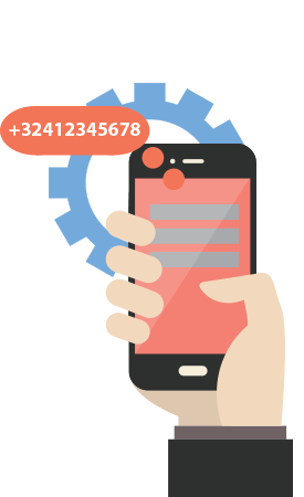 Virtual SMS number to send and receive SMS messages in software